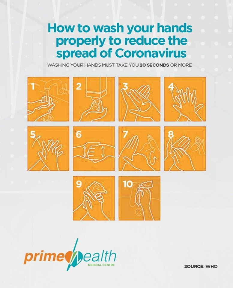 How to wash your hands properly to reduce the spread of coronavirus